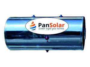 Boiler Ηλιακού PanSolar  GLASS-INOX 120 Λίτρων