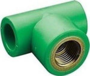 Ταφ θηλυκό  PPR  Φ32 χ 1 AQUAPA πράσινο(ζεστό- κρύο)