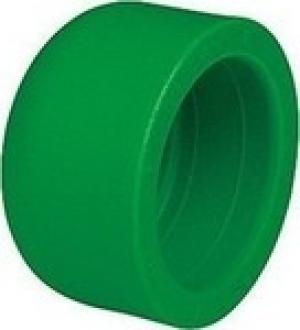 Τάπα   PPR  Φ63  AQUAPA πράσινη (ζεστό- κρύο)