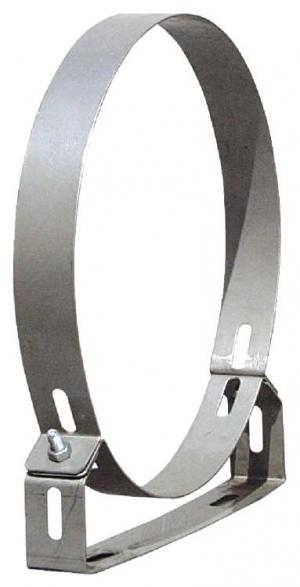 Στήριγμα καμινάδας Ανοξείδωτο Ενισχυμένο πάχους 0,40mm Φ400
