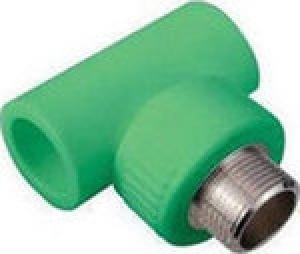 Ταφ αρσενικό  PPR  Φ20 χ 1/2  AQUAPA πράσινο(ζεστό- κρύο)