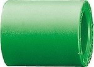 Μούφα   PPR  Φ50  AQUAPA πράσινη (ζεστό- κρύο)