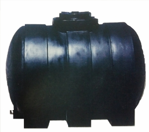 Πλαστική δεξαμενή κυλινδρική βαρέου τύπου 750 λίτρα