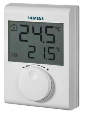 SIEMENS Ηλεκτρονικός θερμοστάτης RDH 100