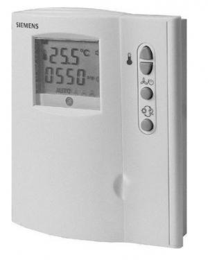 SIEMENS θερμοστάτης ηλεκτρονικός για fan-coils RDF110.2