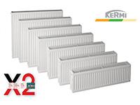 Θερμαντικό σώμα compact Kermi 22/500/1600 3068 Kcal/h.