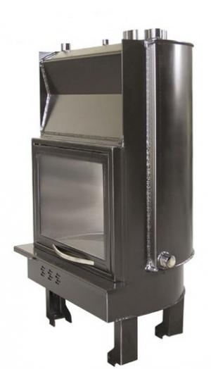 Ενεργειακό τζάκι Νερού - Καλοριφέρ, Ισχύς 40 KW, PAN40 KA, Ανοιγόμενη Πόρτα