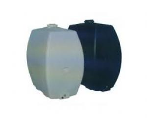 Πλαστική δεξαμενή στενή κάθετη βαρέου τύπου 300 λίτρα