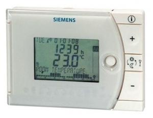 SIEMENS Ηλεκτρονικός ημερήσιος χρονοθερμοστάτης με αυτοπροσαρμογή REV13