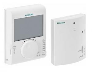 SIEMENS Ηλεκτρονικός θερμοστάτης δυνατότητα ασύρμ. λειτουργίας  RDJ100RF/SET