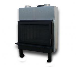 Ενεργειακό τζάκι αερόθερμο μιας όψης, PAN800K Ανοιγόμενη Πόρτα