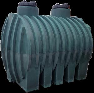 Πλαστική δεξαμενή Υπόγεια 5000 λίτρα (Νερού-πετρελαίου-κλπ)