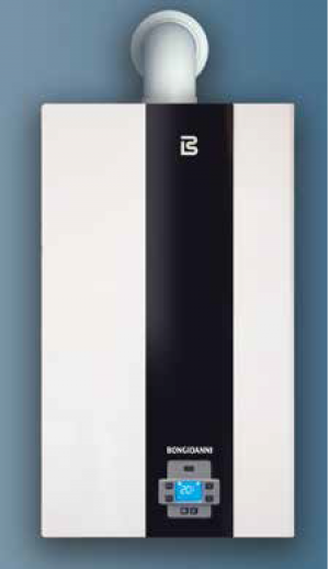 Wall Concentrator Gas Boiler Bongioanni Play 32kw