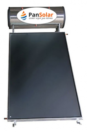 Solar Water Heater 150lt PanSolar Glass/Inox Selective 2,5m².