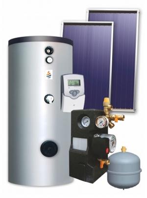 Ηλιακό Σύστημα Βεβιασμένης Κυκλοφορίας 150 λίτρα PanSolar Διπλής Ενέργειας με Επιλεκτικό Συλλέκτη 3,0m².
