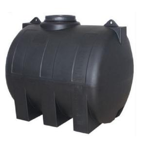 Πλαστική δεξαμενή κυλινδρική οριζόντια βαρέου τύπου 3000 λίτρα