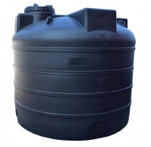 Πλαστική δεξαμενή στενή κάθετη βαρέου τύπου 4000 λίτρα (Νερού-πετρελαίου-κλπ)