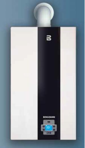 Caldaia a condensazione a gas Bongioanni Play 24kw