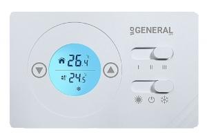 General Ηλεκτρονικός θερμοστάτης για fan coils FC 220