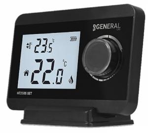 General Ηλεκτρονικός θερμοστάτης χώρου θέρμανσης ΗΤ250S Μαύρος