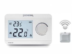 General Ηλεκτρονικός θερμοστάτης χώρου θέρμανσης ή ψύξης ΗΤ250S SET Ασύρματος