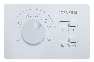 General Ηλεκτρονικός θερμοστάτης για fan coils FC 100
