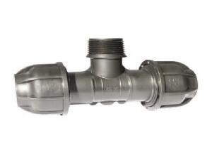 Ταφ Ρακόρ Αρσενικό 40mm x 2″ x 40mm 10 ΑΤΜ