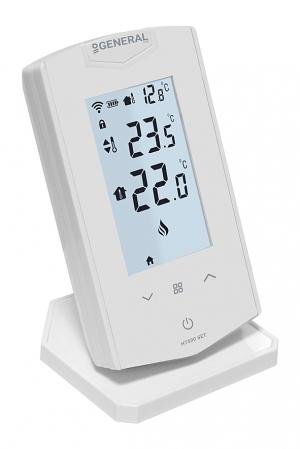 General Ηλεκτρονικός θερμοστάτης χώρου θέρμανσης ή ψύξης αφής ΗΤ500 SET Ασύρματος