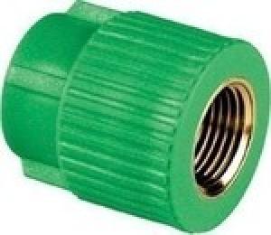 Μαστός θηλυκός  PPR  Φ20 χ1/2 AQUAPA πράσινος(ζεστό- κρύο)