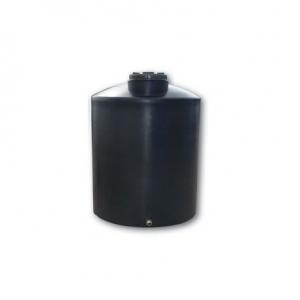 Πλαστική δεξαμενή στενή κάθετη βαρέου τύπου 200 λίτρα χαμηλή (Νερού-πετρελαίου-κλπ)