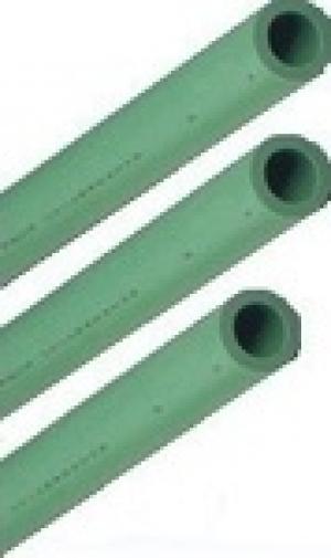 Σωλήνα PPR  Φ25 Χ4,20 AQUAPA πράσινη (ζεστό- κρύο)