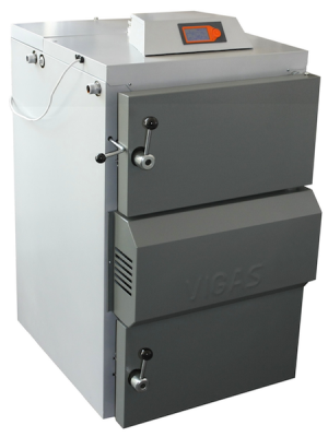 Λέβητας Ξύλου Πυρόλυσης με Αισθητήρα Λάμδα,VIGAS 80LC - 92KW