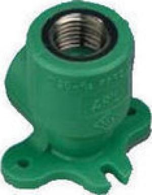 Γωνία υδροληψίας  PPR  Φ20 χ1/2   AQUAPA πράσινη(ζεστό- κρύο)