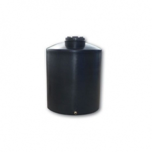 Πλαστική δεξαμενή στενή κάθετη βαρέου τύπου 8000 λίτρα (Νερού-πετρελαίου-κλπ)