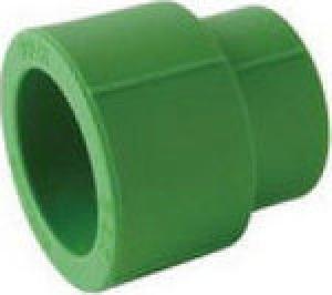 Συστολική μούφα   PPR  Φ32-20  AQUAPA πράσινη (ζεστό- κρύο)