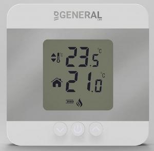 General Ηλεκτρονικός θερμοστάτης χώρου θέρμανσης ΗΤ130S SET