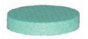 FIBRANxps  CAP, εξηλασμένη πολυστερίνη 15mm, Φ68mm 200τεμάχια/συσκευασία
